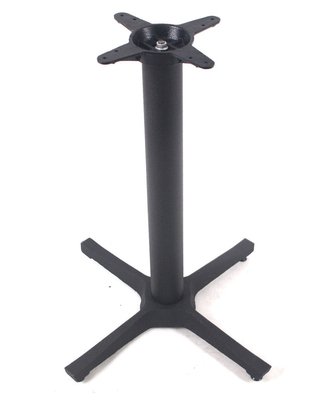Commercial Metal Kitchen Table Legs Cross Coffee Table Base For Restaurant Table