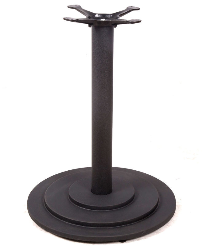 Cast Iron bistro Table base  Black Powder round table Legs Restaurant Table part