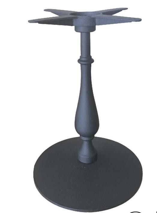 Metal Table leg Cast Iron Bistro Table bases powder coated Hosptality furniture FF&E