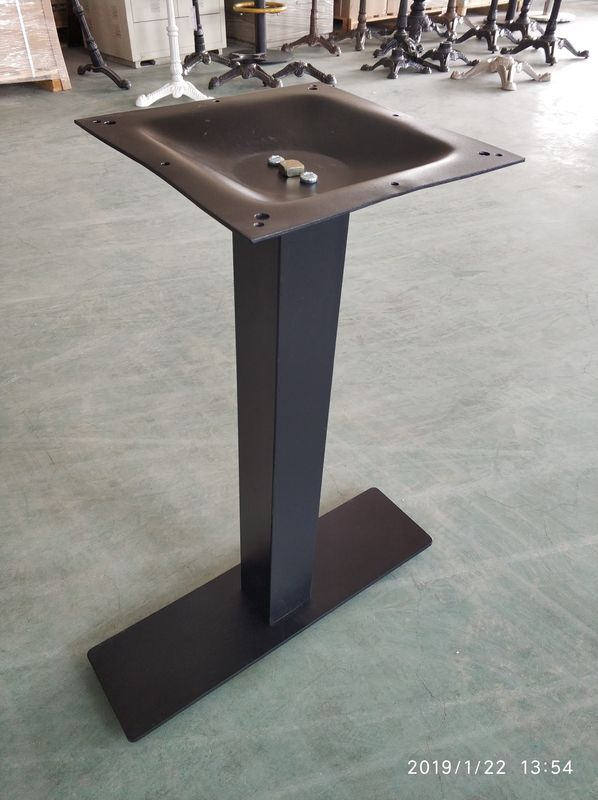Powder Coated Bistro Table Legs Mild Steel Table Leg For Restaurant Furniture
