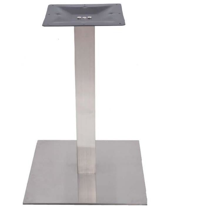 Modern Style Industrial Metal Table Legs Stainless Steel Material 40 X 40 Cm